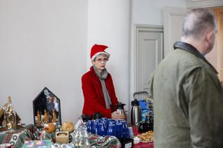 Tijdens de kerstmarkt in Dreischor, 8 december 2018. Foto's: Peter de Krom (voor De Correspondent)