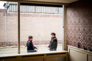 Samira en Momen. Foto's: Boudewijn Bollmann (voor De Correspondent)