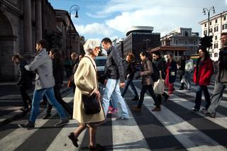 Rome, Italië. Uit de serie 'Crossing Europe' van Poike Stomps.