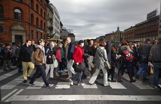 Kopenhagen, Denemarken. Uit de serie 'Crossing Europe' van Poike Stomps.