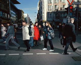 Berlijn, Duitsland. Uit de serie 'Crossing Europe' van Poike Stomps.