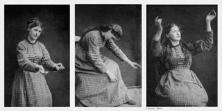 Foto's: Albert Londe, in opdracht van Jean-Martin Charcot voor de Iconographie de la Salpêtrière (1878)