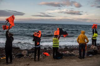 Lesbos, 2015. Foto: Filip Singer / EPA.