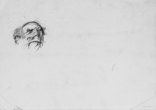Zelfportret van William Utermohlen uit 1998.