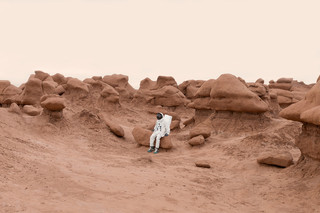 Uit de serie 'Greetings from Mars' van Julien Mauve
