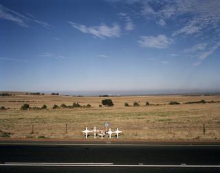 Bermmonument in Zuid Afrika. Uit de serie Blackspots door Hans Guldemond.