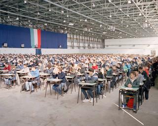 Uit de serie Open Competitive Examinations door Michele Borzoni.