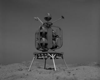 Moon Passenger Ship, 2017. Uit de serie Lunacy door Sjoerd Knibbeler.