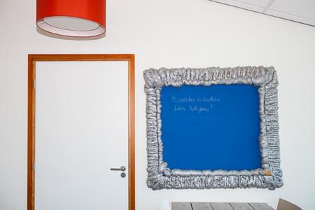 Het kantoor van Buurtzorg Almelo. Foto: Renate Beense (voor De Correspondent)