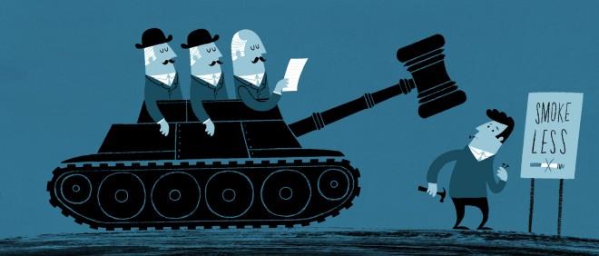 Illustratie: Esther Aarts (voor De Correspondent)