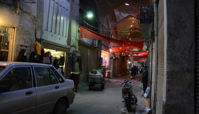 De bazaar van Shiraz (Iran). Foto: Shiva