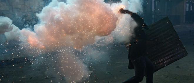 Protesten in Caracas (Venezuela), 3 maart 2014. Foto: Leo Ramirez/ANP
