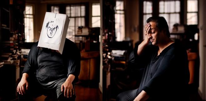 Hafid Bouazza. Foto's: Károly Effenberger/Hollandse Hoogte