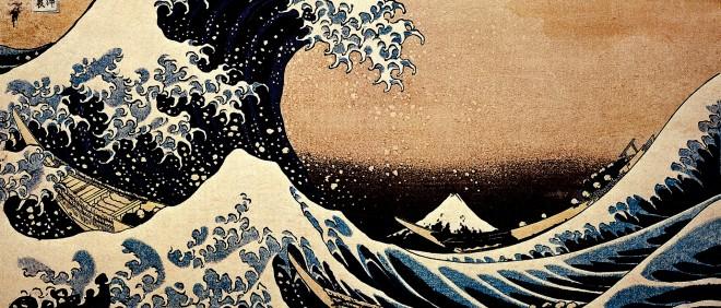 'The Great Wave' van de Japanse kunstenaar Hokusai (1760-1849). Illustratie: Getty Images