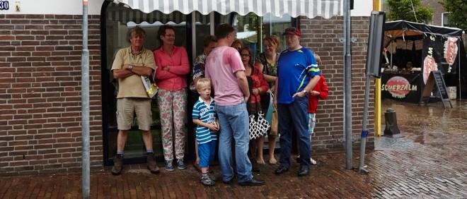 Op het Euifeest in het Overijsselse stadje Hasselt waar afgelopen weekend ook de kraam van Bond tegen Vloeken stond. Foto: Niels Stomps (voor De Correspondent)