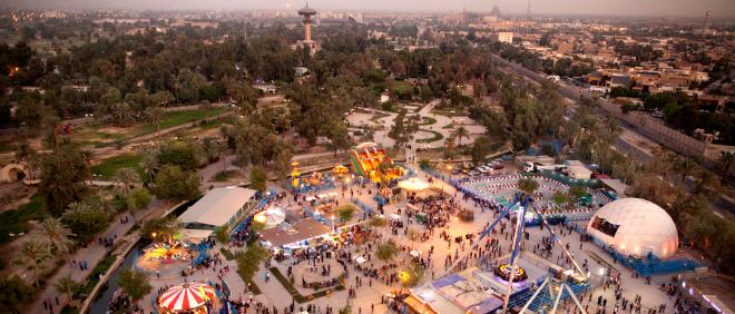 2011: Het Zawra-park in Bagdad met een dierentuin en permanente kermis. Foto: Marieke van der Velden