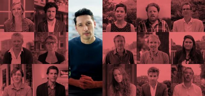 Stills uit de nieuwe campagnefilms, met camerawerk van Jean Counet.
