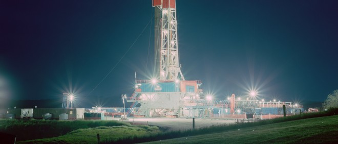 De Chevron gascentrale in Franklin Township (Pennsylvania, VS). Foto: Noah Addis/Hollandse Hoogte