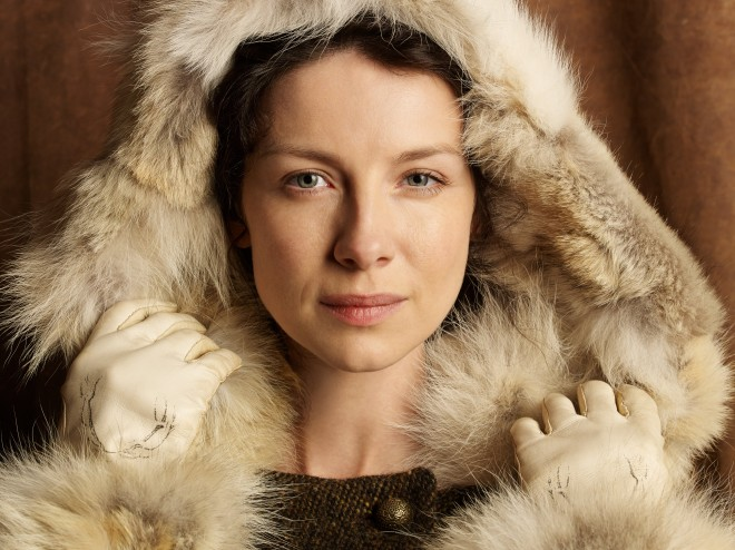 Caitriona Balfe als Claire in Outlander. Beeld: HBO