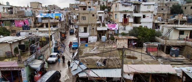 Shatila, een Palestijns vluchtelingenkamp in Beiroet (Libanon). Foto: Saygin Serdarogly/Hollandse Hoogte