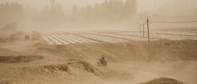 Uit de fotoserie 'The Chinese 'Dust Bowl''. Foto: Benoit Aquin