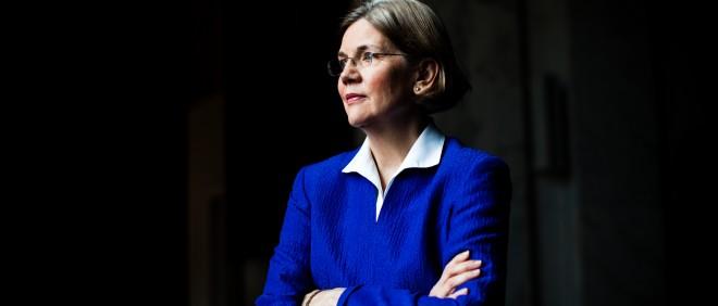 Elizabeth Warren. Foto: Stephen Voss/Hollandse Hoogte