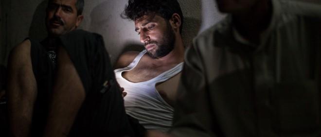 Een Syrische vluchteling in Libanon. Foto: Liam Maloney/Hollandse Hoogte