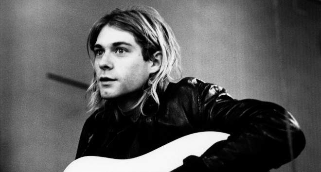 Kurt Cobain. Hilversum, 25 november 1991. Foto: Michel Linssen/Getty Images
