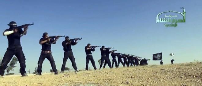 Still uit een propagandavideo van 7 september 2013. Foto: ANP