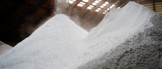 Zoutproductie bij Frisia Zout in Harlingen. Foto: Michiel Wijnbergh/Hollandse Hoogte