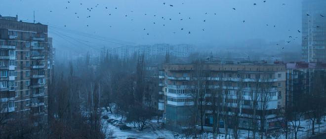 Donetsk in de vroege ochtend. Foto: Brendan Hoffman / The New York Times / HH