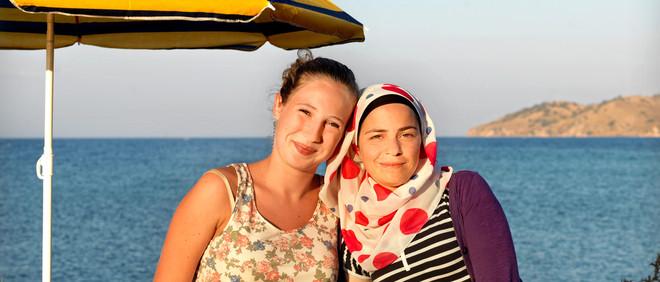 Annemarijn en Brivan. Uit het project: The Island of All Together. Foto: Marieke van der Velden en Philip Brink