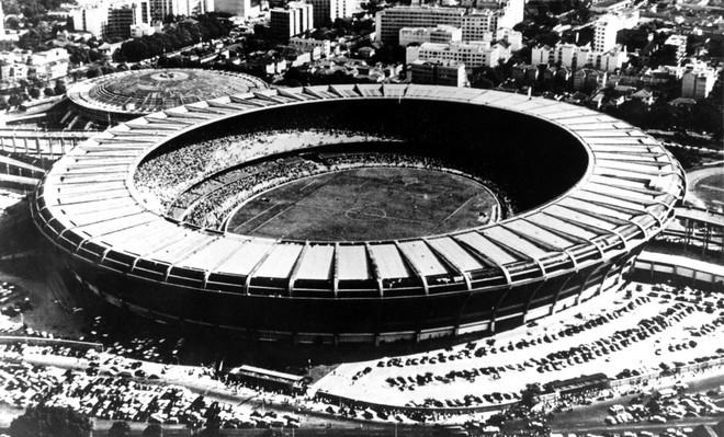 Het Maracanãstadion in Rio de Janeiro in 1950. Foto: HH