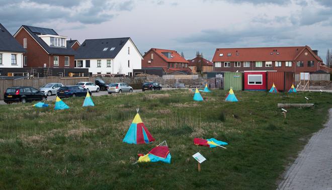 Nijmegen-Noord wordt verder uitgebreid. Foto: Tom Janssen (voor De Correspondent)