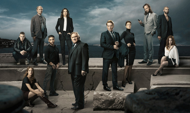 Promotiebeeld van de nieuwe Netflix-serie 'Marseille'
