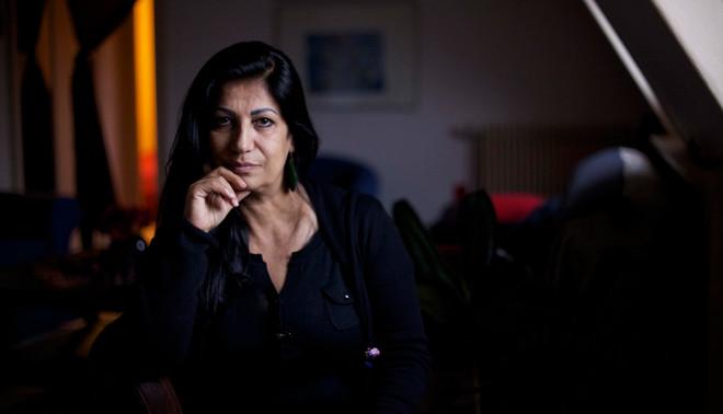 De Syrische dichteres Hala Mohammad. Foto: Al Jazeera