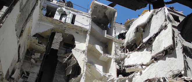 Still uit Greetings from Aleppo