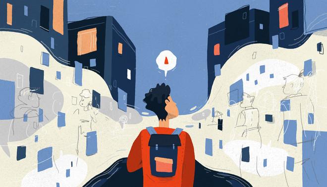 Illustratie: Esther de Korte (voor De Correspondent)