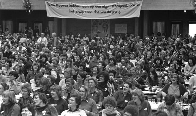 Congres van de Rooie Vrouwen op 10 februari 1979. Foto: Bert Verhoeff / Hollandse Hoogte