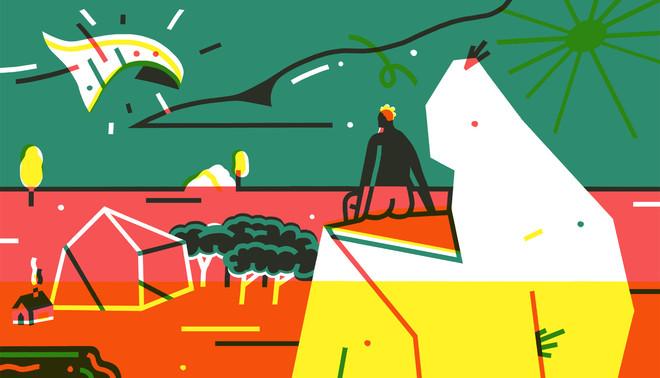 Illustraties: Nik van Es (voor De Correspondent)