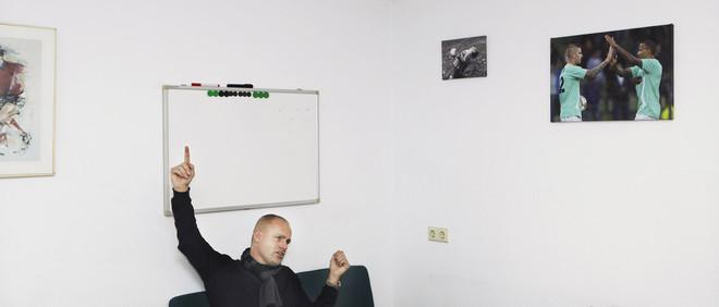 Marco Boogers. Foto's: Jan Dirk van der Burg (voor De Correspondent)