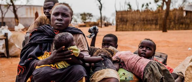 Soedanese vluchtelingen in Yida, Zuid-Soedan (maart 2015). Foto: Andreas Stahl