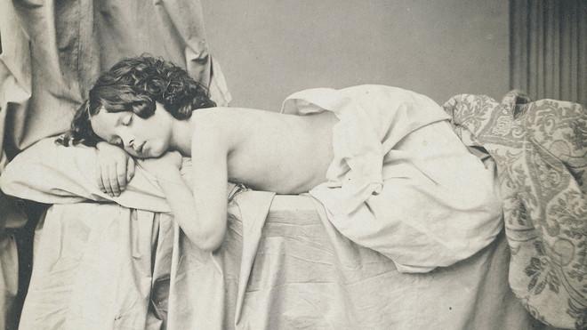 Studie van Eugenie von Klenze in 1854. Foto: Franz Hanfstaengl / Rijksmuseum