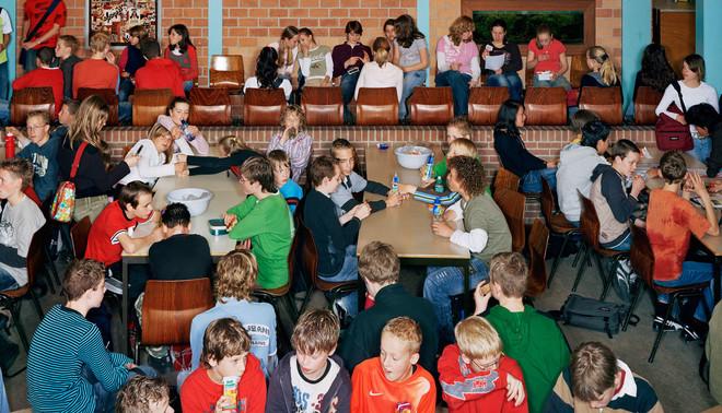 Uit de serie School van Raimond Wouda