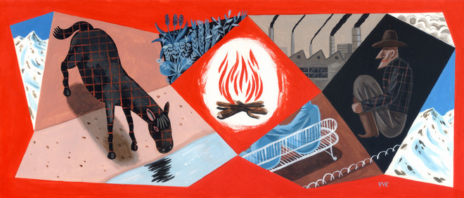Illustratie: Pieter Van Eenoge (voor De Correspondent)