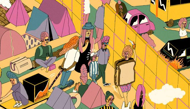 Illustratie's: Elzeline Kooy (voor De Correspondent)