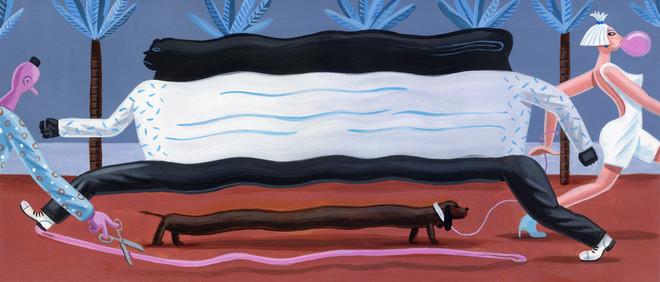 Illustraties: Pieter Van Eenoge (De Correspondent)