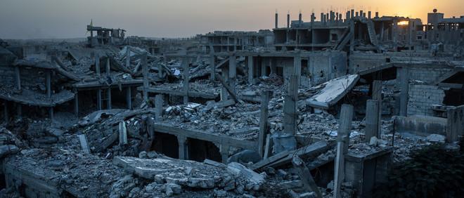 16 oktober 2015, de Syrische stad Kobani. Foto: The Washington Post / Getty Images