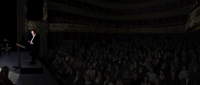 Orchestra (2011) door David Claerbout (Sean Kelly, New York / Esther Schipper, Berlin)