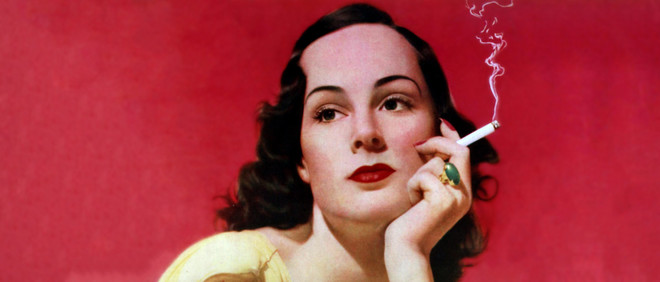 Reclame voor het sigarettenmerk Craven, 1939. Foto: Popperfoto / Getty Images